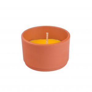 SOLO svíce citronela v terakotě 130 g