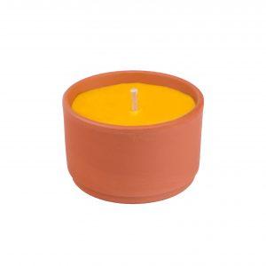 SOLO Svíce citronela v terakotě 190 g