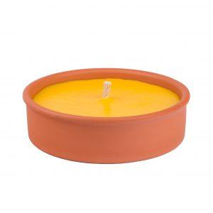 SOLO Svíce citronela v terakotě 300 g